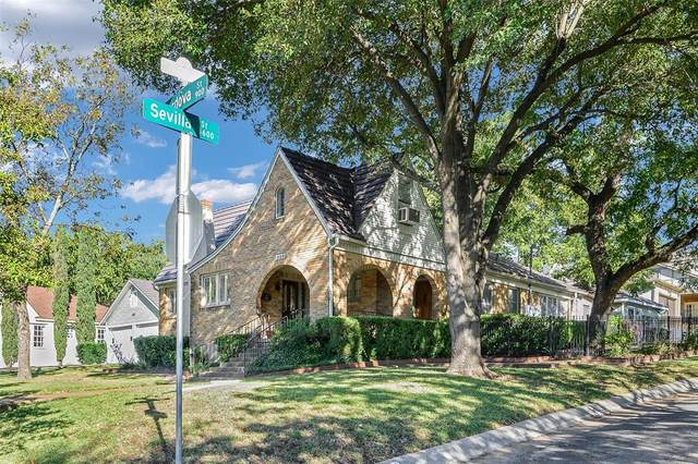 920 Cordova, Dallas, TX 75223 (#14471632) :: Homes By Lainie Real Estate Group
