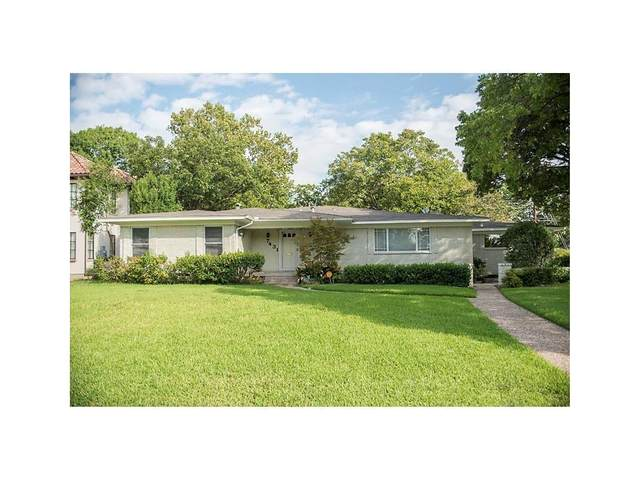 7431 Midbury Drive, Dallas, TX 75230 (MLS #14471641) :: Real Estate By Design