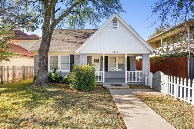 5227 Homer Street, Dallas, TX 75206 (MLS #14472334) :: The Kimberly Davis Group