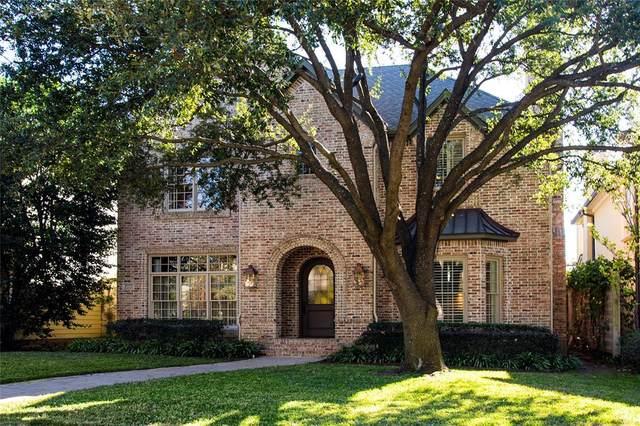 4922 Purdue Avenue, Dallas, TX 75209 (MLS #14473174) :: The Kimberly Davis Group