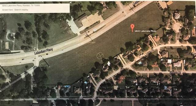 6832 Lakeview Circle, Rowlett, TX 75089 (MLS #14473379) :: The Kimberly Davis Group