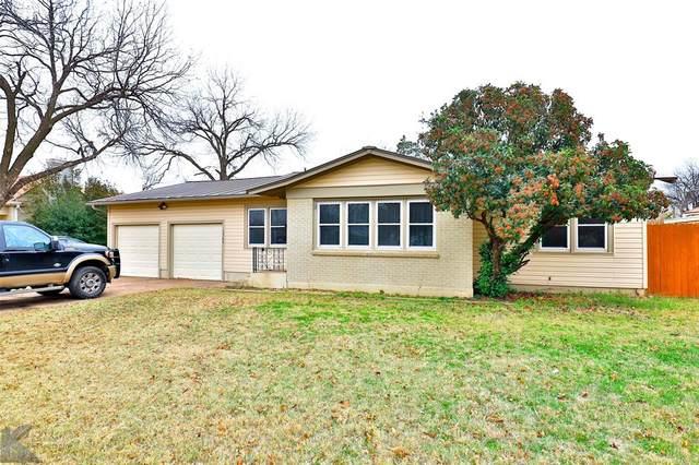 1769 University Boulevard, Abilene, TX 79603 (MLS #14473523) :: Front Real Estate Co.
