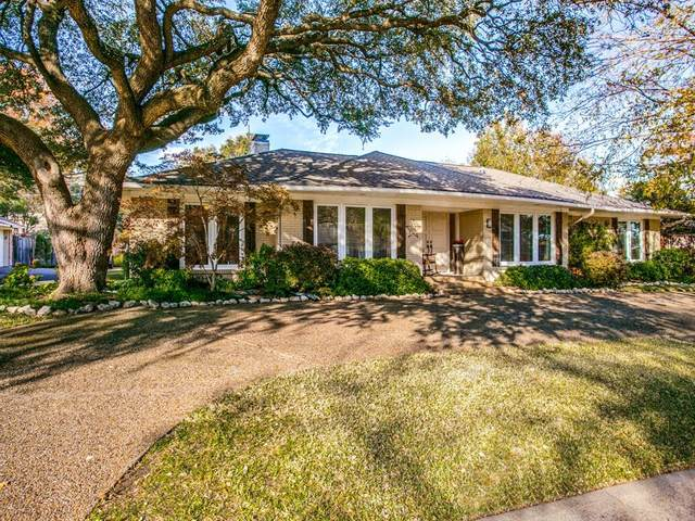 7137 Lakehurst Avenue, Dallas, TX 75230 (MLS #14473532) :: Robbins Real Estate Group