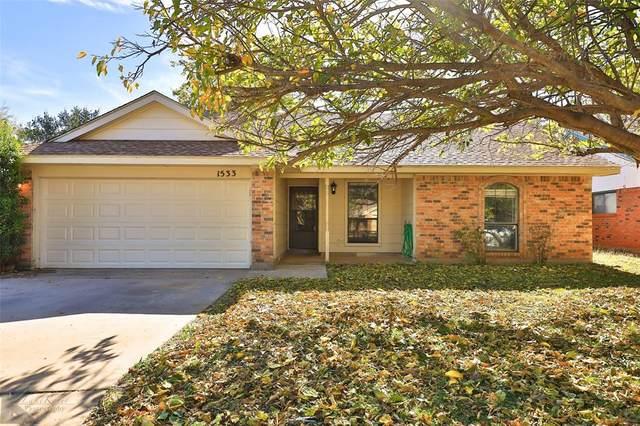1533 Seamans Way, Abilene, TX 79602 (MLS #14473545) :: Potts Realty Group