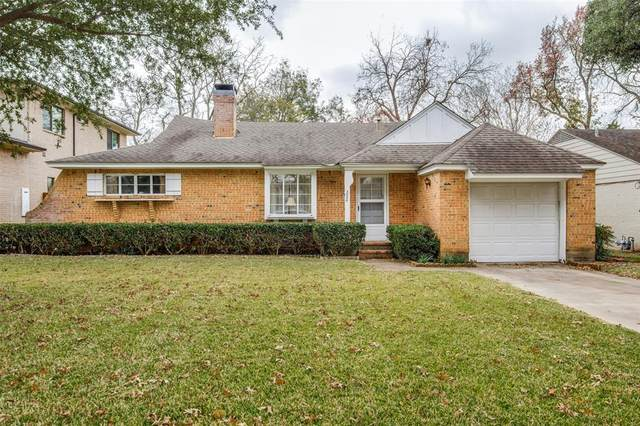 3856 Dunhaven Road, Dallas, TX 75220 (#14473677) :: Homes By Lainie Real Estate Group