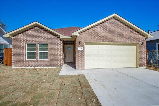 1429 E Richmond Avenue, Fort Worth, TX 76104 (#14473756) :: Homes By Lainie Real Estate Group