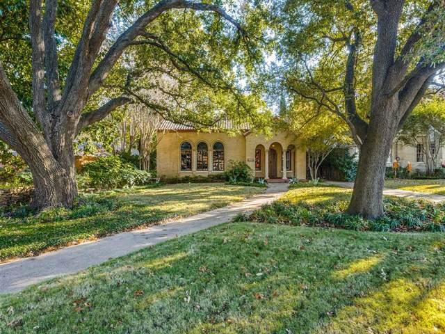 7118 Lakewood Boulevard, Dallas, TX 75214 (MLS #14473815) :: The Kimberly Davis Group