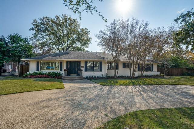 6006 Lupton Drive, Dallas, TX 75225 (MLS #14474281) :: Robbins Real Estate Group