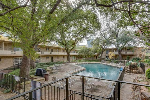 2525 Turtle Creek Boulevard #116, Dallas, TX 75219 (MLS #14474301) :: All Cities USA Realty