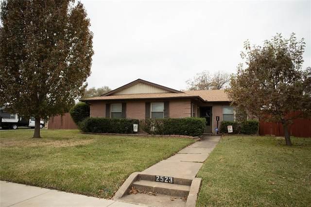 2523 Rosewood Drive, Mesquite, TX 75150 (MLS #14474587) :: The Kimberly Davis Group