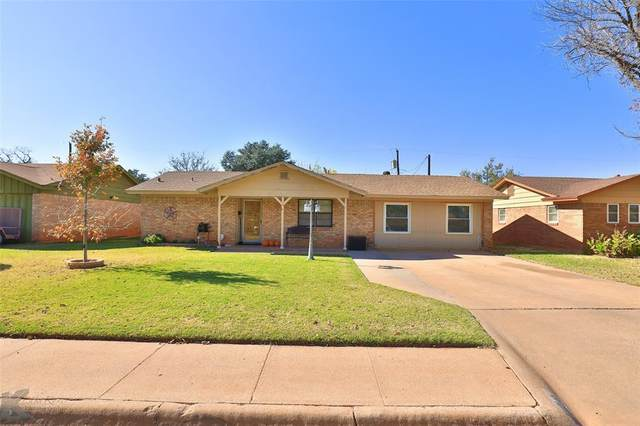 2110 Rosewood Drive, Abilene, TX 79603 (#14474796) :: Homes By Lainie Real Estate Group