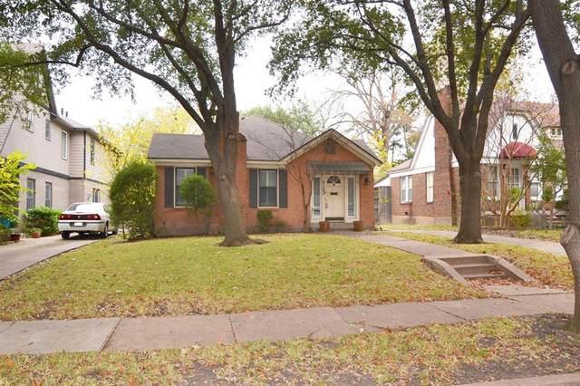 5123 Vanderbilt Avenue, Dallas, TX 75206 (#14474843) :: Homes By Lainie Real Estate Group