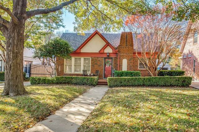 2208 Carleton Avenue, Fort Worth, TX 76107 (MLS #14475901) :: Premier Properties Group of Keller Williams Realty