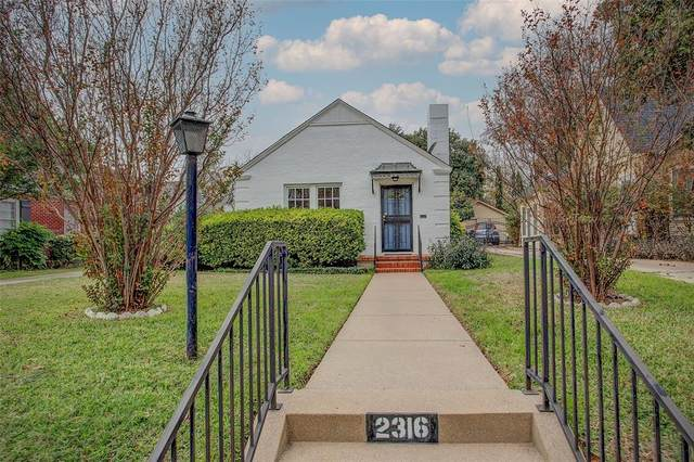 2316 Tremont Avenue, Fort Worth, TX 76107 (MLS #14476185) :: The Kimberly Davis Group