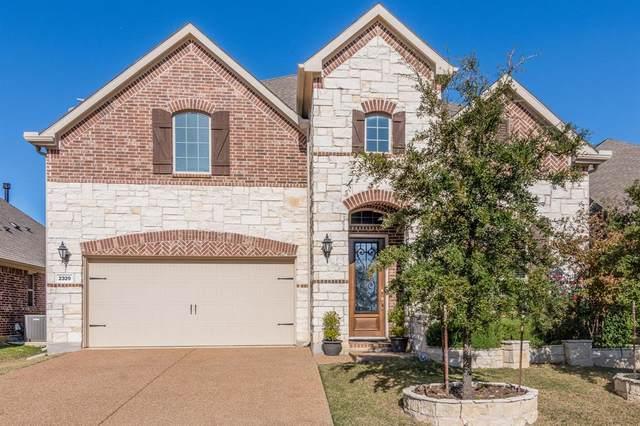 2329 Prairie Wind Path, Lewisville, TX 75056 (MLS #14476254) :: Real Estate By Design