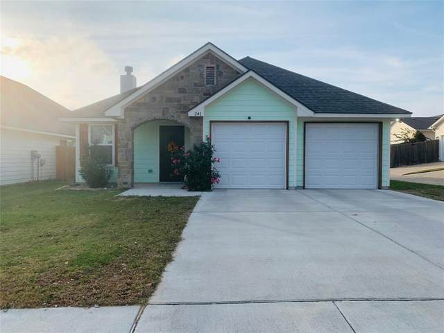 241 Lovers Path Drive, Springtown, TX 76082 (MLS #14476524) :: The Kimberly Davis Group
