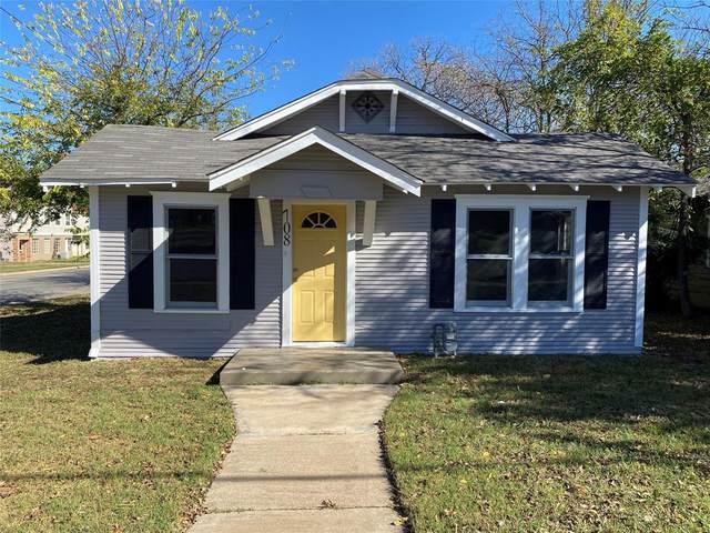 708 Granbury Street, Cleburne, TX 76033 (MLS #14476634) :: Lyn L. Thomas Real Estate | Keller Williams Allen