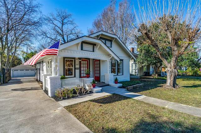 819 Parkview Avenue, Dallas, TX 75223 (MLS #14476723) :: The Hornburg Real Estate Group