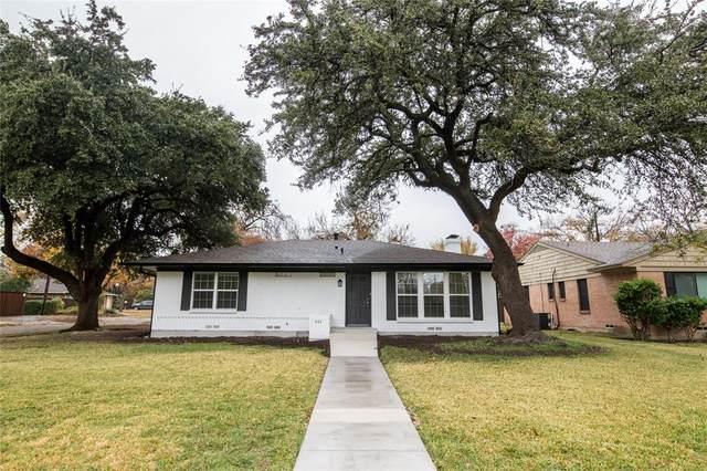 406 Nottingham Drive, Richardson, TX 75080 (MLS #14476729) :: Hargrove Realty Group