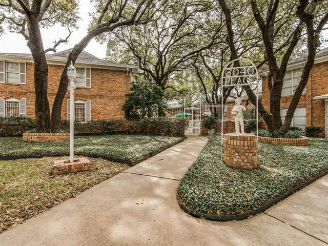 6042 Averill Way C, Dallas, TX 75225 (MLS #14477312) :: The Tierny Jordan Network