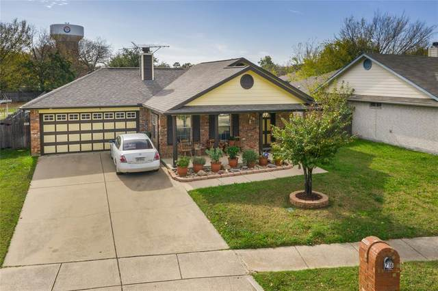718 Peach Street, Arlington, TX 76011 (MLS #14477324) :: Robbins Real Estate Group