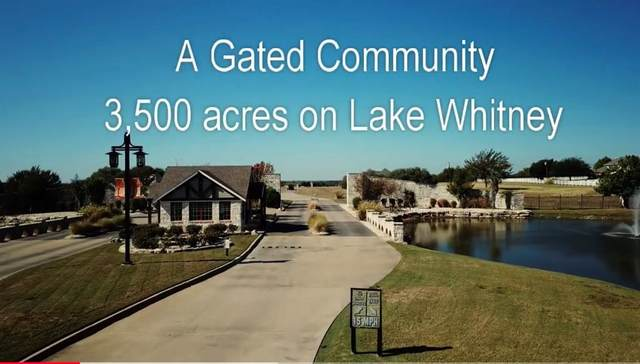 1642 White Bluff Drive, Whitney, TX 76692 (MLS #14477451) :: The Kimberly Davis Group