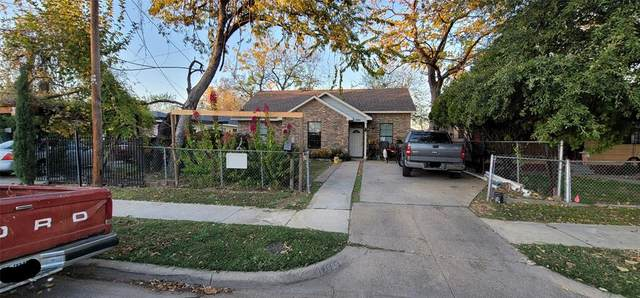 1607 Homeland Street, Dallas, TX 75212 (MLS #14477595) :: The Rhodes Team