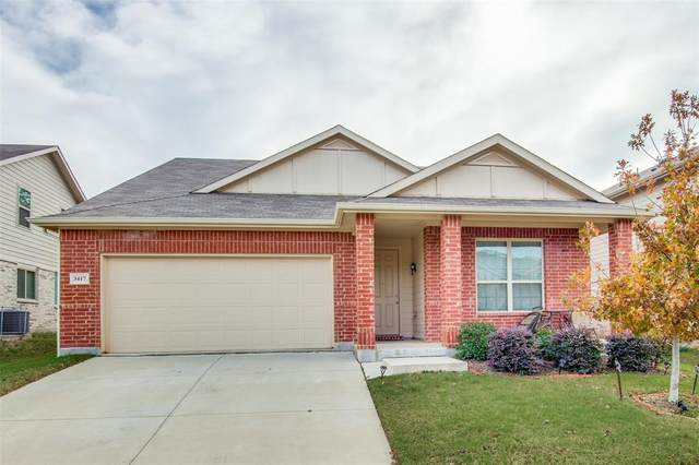 3417 San Lucas Lane, Denton, TX 76208 (MLS #14477898) :: The Mitchell Group