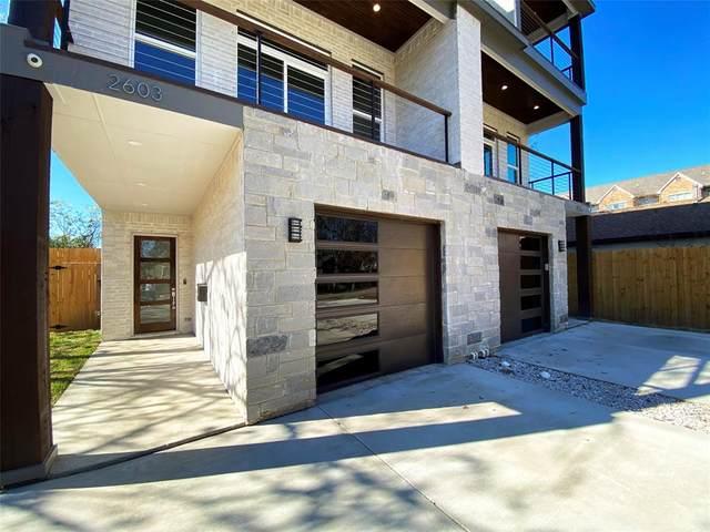 2605 Crossman Avenue, Dallas, TX 75212 (MLS #14477905) :: The Mauelshagen Group
