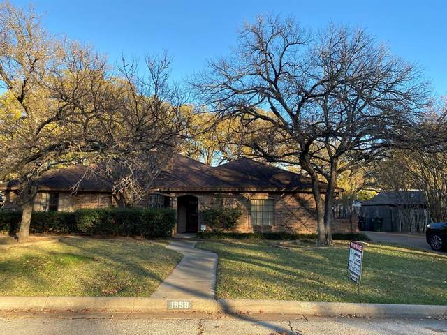 1959 Lanewood Drive, Fort Worth, TX 76112 (MLS #14478416) :: Real Estate By Design