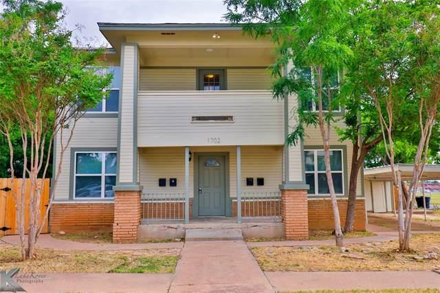 1702 S 3rd Street, Abilene, TX 79602 (MLS #14478472) :: The Heyl Group at Keller Williams