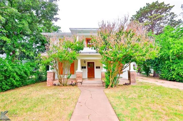 466 Clinton Street, Abilene, TX 79603 (MLS #14478503) :: The Heyl Group at Keller Williams