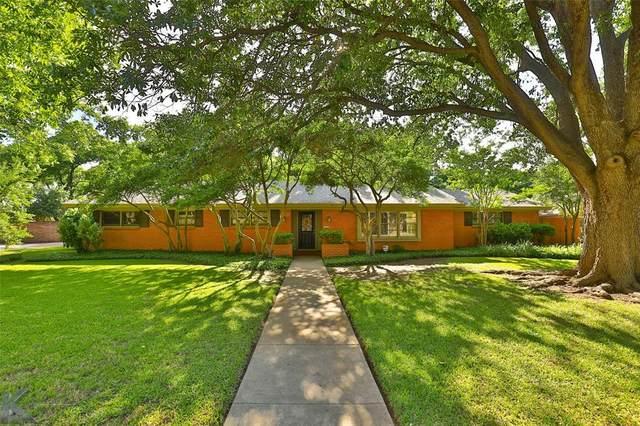 1468 Tanglewood Road, Abilene, TX 79605 (MLS #14478505) :: The Heyl Group at Keller Williams