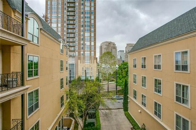 2300 Leonard Street #401, Dallas, TX 75201 (MLS #14478826) :: The Hornburg Real Estate Group