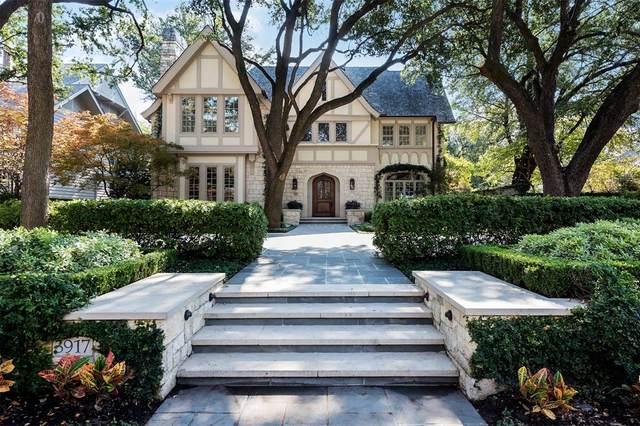 3917 Miramar Avenue, Highland Park, TX 75205 (MLS #14478843) :: Trinity Premier Properties