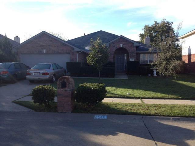 2500 Acorn Bend, Denton, TX 76210 (MLS #14478920) :: All Cities USA Realty