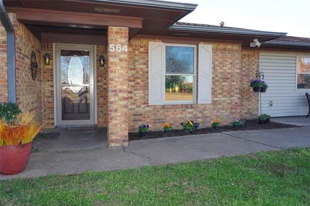 564 County Road 2510, Bonham, TX 75418 (MLS #14479043) :: The Mauelshagen Group