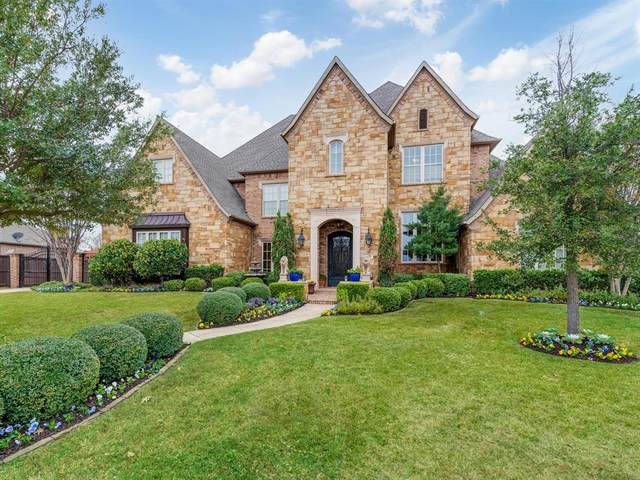 5816 Chalford Common, Colleyville, TX 76034 (MLS #14479134) :: The Mauelshagen Group
