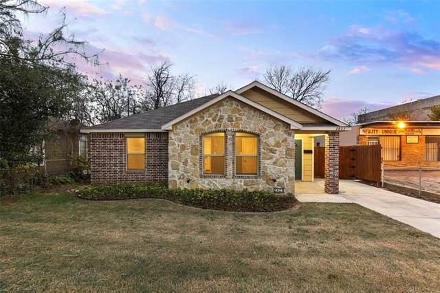 2823 S Marsalis Avenue, Dallas, TX 75216 (MLS #14479305) :: The Mauelshagen Group