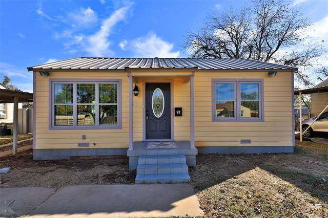 825 S Crockett Drive, Abilene, TX 79605 (MLS #14479814) :: Frankie Arthur Real Estate