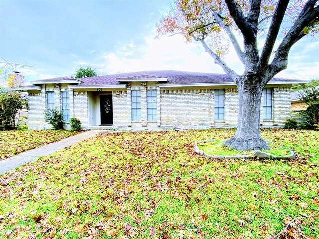 409 Los Santos Drive, Garland, TX 75043 (#14480049) :: Homes By Lainie Real Estate Group