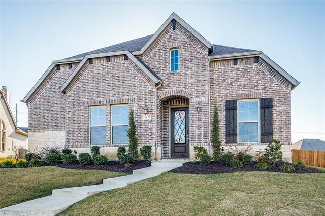 1407 Scarlet Lane, Frisco, TX 75033 (MLS #14480227) :: Frankie Arthur Real Estate