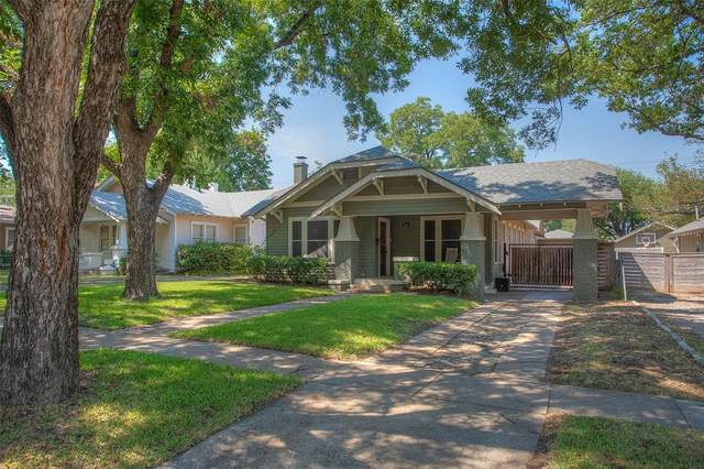 5308 El Campo Avenue, Fort Worth, TX 76107 (#14480355) :: Homes By Lainie Real Estate Group