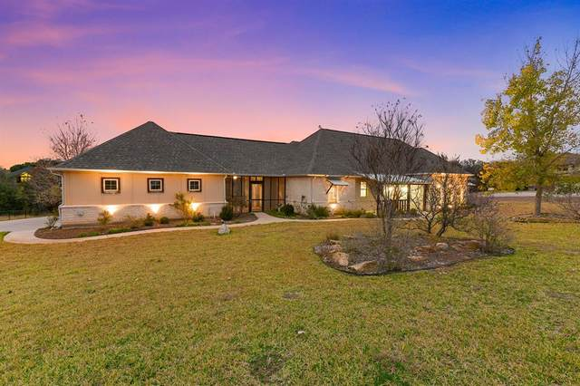 157 Canyon Creek Court, Weatherford, TX 76087 (MLS #14480475) :: All Cities USA Realty