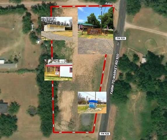 15793 Fm 920, Poolville, TX 76487 (MLS #14480624) :: Bray Real Estate Group