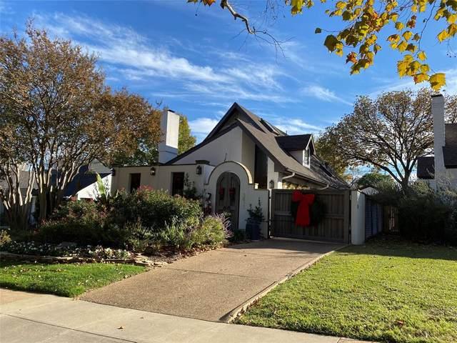 3821 Lenox Drive, Fort Worth, TX 76107 (MLS #14480638) :: The Good Home Team