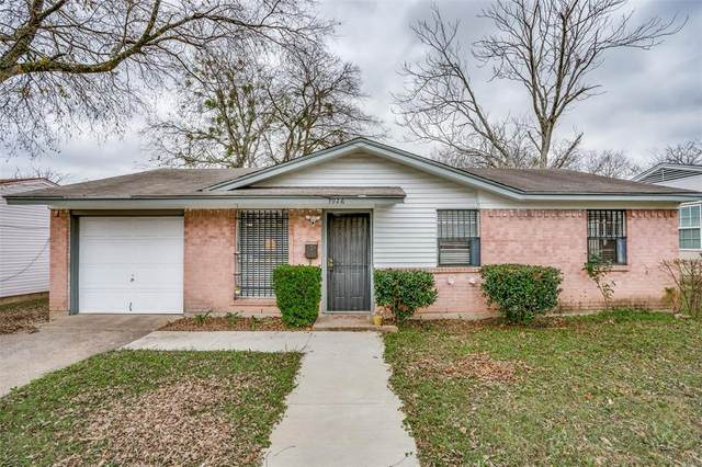 3926 Mehalia Drive, Dallas, TX 75241 (MLS #14480957) :: Real Estate By Design