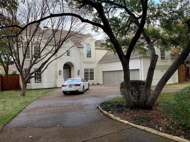 6827 Mimosa Lane, Dallas, TX 75230 (MLS #14480983) :: All Cities USA Realty