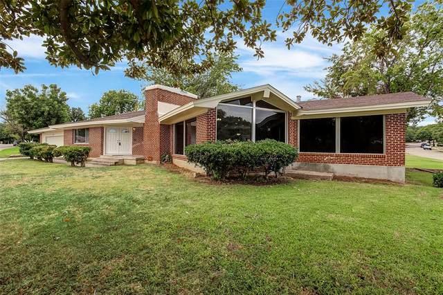 5640 Eisenhower Drive, Fort Worth, TX 76112 (MLS #14481238) :: The Mauelshagen Group