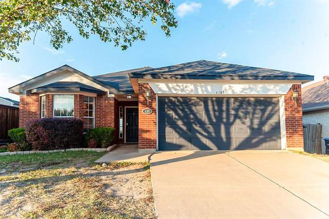 4105 Big Thicket Drive, Fort Worth, TX 76244 (MLS #14481301) :: Front Real Estate Co.